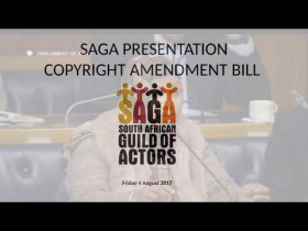 SAGA Presentation to Parliamentary Committee on Trade and Industry 4 August 2017